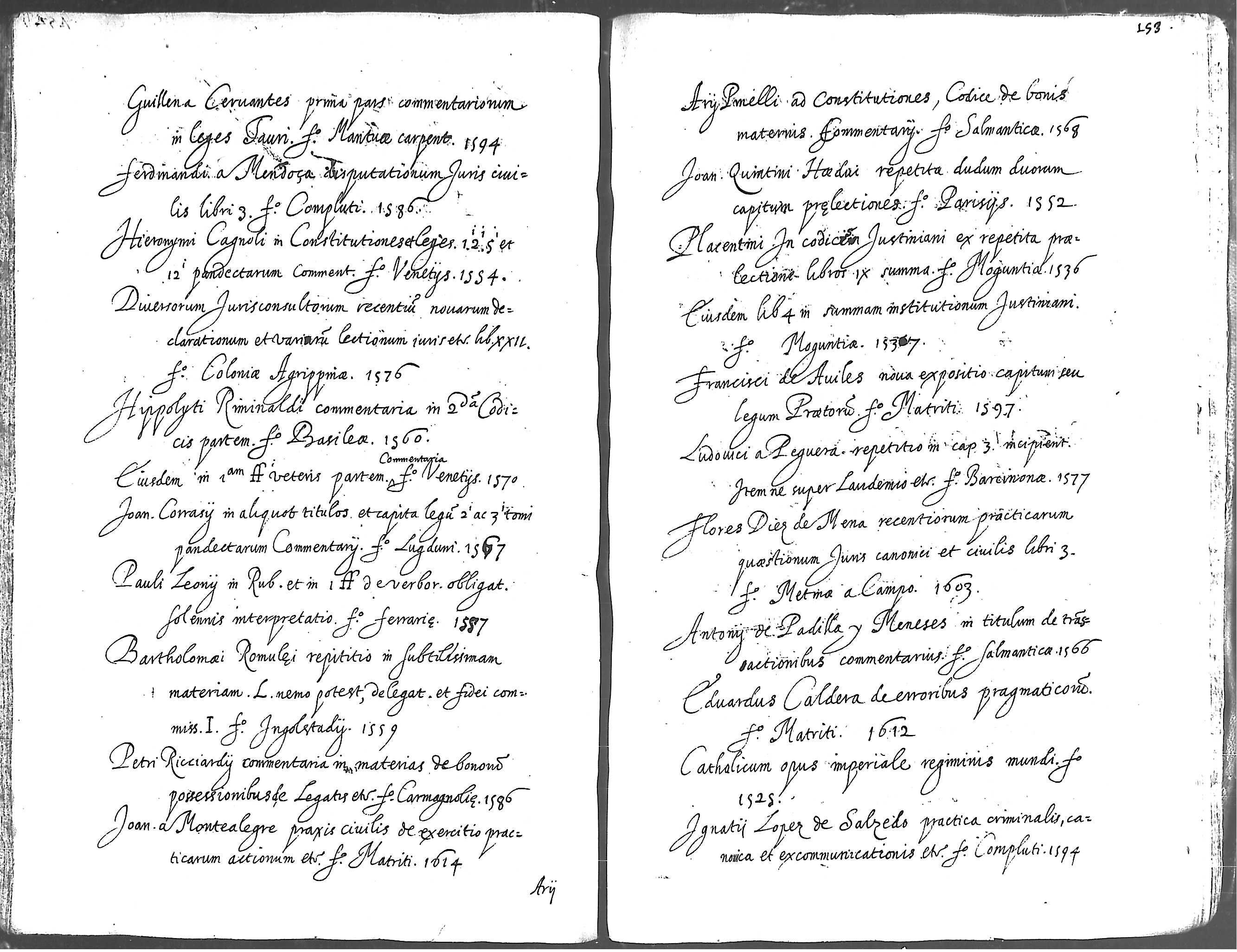 Antonii Ayerue de Ayora, Tractatus de partitionibus bonorum communium